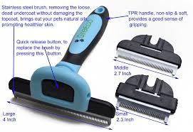 Petco Dog Shedding Blade by Amazon Com Greeco 3 In 1 Professional Deshedding Tool U0026 Pet