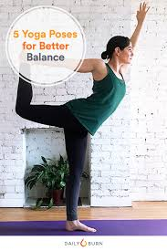 5 Standing Yoga Poses For Better Balance