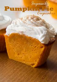 Bisquick Pumpkin Mini Muffins by Impossible Pumpkin Pie Cupcakes Cakescottage