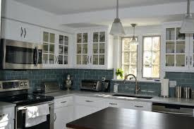 glass subway tile backsplash kitchen kitchen glass kitchen