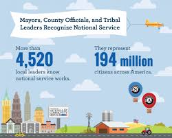 Last Day For 1 Any mayor and county recognition day for national service