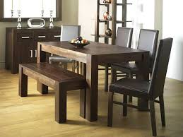Dining Room Table With Bench Amazing And Chairs Innovative Ideas Sets Cool Style