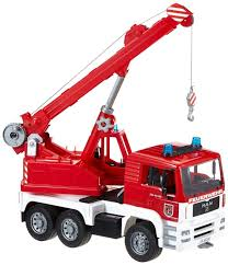 Fire Engine Crane - Vehicle Toy By Bruder Trucks (02770) By Bruder ...