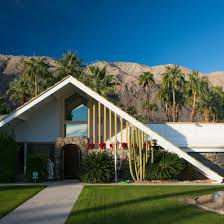 100 Palm Springs Architects Aframe Roofs Typify Charles DuBois Swiss Miss Houses In