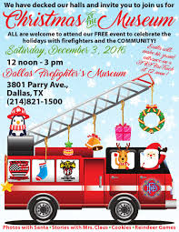 Christmas At The Museum 2016 - Dallas Fire Museum