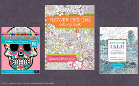 Adult Coloring Books Topping Bestseller Lists