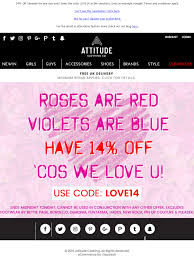 Valentines Day Email From Attitude Clothing With Discount ... 3050 Reg 64 Tarte Shape Tape Concealer 2 Pack Sponge Boxycharm August 2017 Review Coupon Savvy Liberation 2010 Guide Boxycharm Coupon Code August 2018 Paleoethics Manufacturer Coupons From California Shape Tape Stay Spray Vegan Setting Birchbox Free Rainforest Of The Sea Gloss Custom Kit 2019 Launches June 5th At 7 Am Et Msa Applying Discounts And Promotions On Ecommerce Websites Choose A Foundation Deluxe Sample With Any 35 Order Code 25 Off Cosmetics Tarte 30 Off Including Sale Items