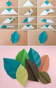 Kusudama Tutorial Leaf With Or Without Veins