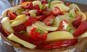 dessert aux fruits d ete tarte aux fruits frais c est pas du gâteau
