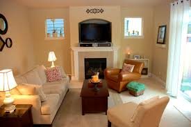 Narrow Living Room Layout With Fireplace by Bedroom Exquisite Images About Small Family Room Fireplace