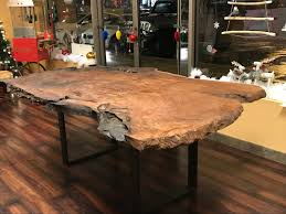Redwood Live Edge Slab Dining Room Table/Lived Edge Slab Conference Table Live Edge Ding Room Portfolio Includes Tables And Chairs Rustic Table Live Edge Wood Farm Table For The Milton Ding Chair Sand Harvest Fniture Custom Massive Redwood Made In Usa Duchess Outlet Amazoncom Qidi Folding Lounge Office Langley Street Aird Upholstered Reviews Wayfair Coaster Room Side Pack Qty 2 100622 Aw Modern Allmodern Forest With Fabric Spring Seat 500 Year Old Mountain Top 4 190512