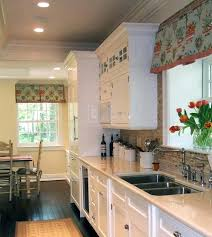 Kitchen Curtain Ideas Pictures by Small Kitchen Bay Window Treatments Curtains Ideas Coverings For