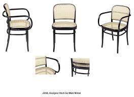 jose stuhl 2 stück wiener geflecht matz möbel vintage designermöbel