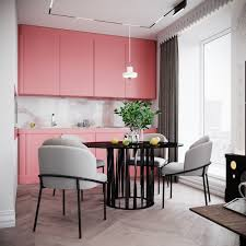 51 Inspirational Pink Kitchens With Tips Dan Accessories To