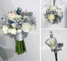 Emmas Custom Made Winter Wedding Flowers