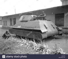 100 Two Ton Truck GIs Examine A Dummy German Tank Made Of Wood Built On