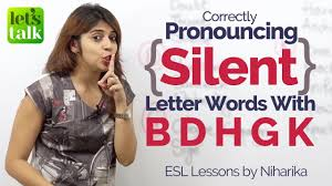 Correct Pronunciation Of Silent Letter Words Free English Lesson