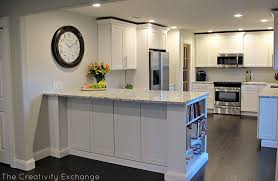 Kitchen Soffit Removal Ideas by Kitchen Remodels Before And After Photos Half Wall Between