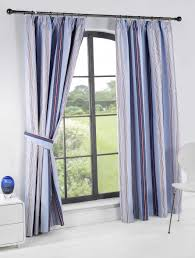 Navy And White Striped Curtains Uk by Blue Striped Curtains Custom Multi Colored Blue Striped Curtains