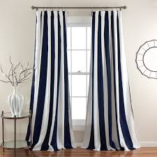 Vertical Striped Curtains Panels by Wilbur Window Curtain Set Walmart Com