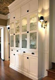 China Cabinet Hardware Interior Decor Ideas Recessed Wall For Dishes Hutch Dining Room Cabinets Modern Mounted