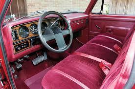 100 Truck Interior Parts 1985 Dodge Ram Cummins D001 Development Ramcharger Interior
