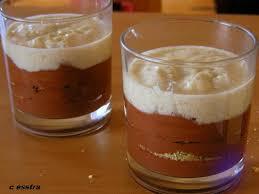 dessert rapide chocolat banane dessert valentin mousse tiède au chocolat mousse de
