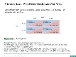 14 Oligopoly Firms In Less Competitive Markets Chapter Outline And