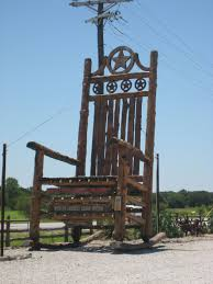 Lipan, Texas: The Star Of Texas: Giant Rocking Chair. The ... Hill Country Sun Julyaugust 2019 By Julie Harrington Issuu Mesquite Ladder Chair Made At Texas Fniture The Rocking Chair Ranch Home Facebook Vacation Cottage And Farmhouse Lodging Rentals Rose Amazoncom Handembroidered Pillow Modern Porch Reveal Maison De Pax Pin T Hoovestol On Dripping Springs Rancho Welcome To The River Region Custom Rocking Chairs Comfortable Refined Elegant Elopement Wedding Photographer For Adventurous Couples
