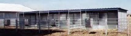 Metal Loafing Shed Kits by Lonestar Custom Barns