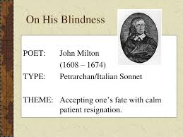 PPT His Blindness PowerPoint Presentation ID