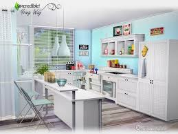 Cool Sims 3 Kitchen Ideas by Sims 4 Cc U0027s The Best Kitchen By Simcredible Sims 4 Cc U0027s