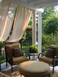 Pottery Barn Outdoor Curtains by Outdoor Drapes On Shade Structures Help Us Survive The Dog Days Of