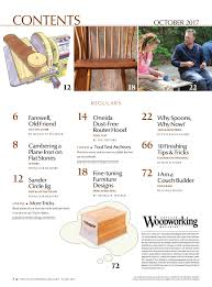 popular woodworking magazine sept oct 2017 issue now available