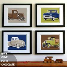 Vintage Truck Wall Art - Transportation Wall Art Prints - Set Of 4 ... Cartoon Fire Truck New Wall Art Lovely Fire Truck Wall Art Mural For Boys Rooms Gavins Room Room Dump Decor Dumper Print Cstruction Kids Bedrooms Nurseries Di Lewis Nursery Trucks Prints Smw267c Custom Metal 1957 Classic Chevy Sunriver Works Ford Fine America Ben Franklin Crafts And Frame Shop Make Your Own Vintage Smw363 Car 1940 Personalized Stupell Industries Christmas Tree Lane Red Zulily Design Running Stickers For Vinyl
