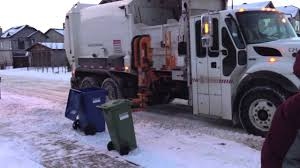 Automatic Side Loader Recycling Garbage Truck Picking Up In Winter ... George The Garbage Truck Real City Heroes Rch Videos For Garbage Truck Children L 45 Minutes Of Toys Playtime Good Vs Evil Cartoons Video For Kids Clean Rubbish Trucks Learning Collection Vol 1 Teaching Numbers Toy Bruder And Tonka Blue On Route Best Videos Kids Preschool Kindergarten Trucks Toddlers Trash Truck