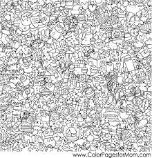 Christmas Coloring Page Collage Christmascoloringpage