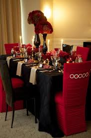 Red And Black Living Room Decorating Ideas by Best 25 Red And Black Table Decorations Ideas On Pinterest