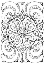 Paisley Doodle Adult Colouring Page Printable Pattern Pages Zen Art