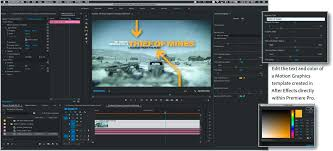All You Need To Know About Motion Graphics Templates And Adobe After Effects Premiere Text Animate