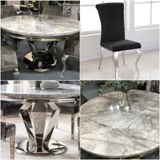 Arturo Grey Marble 130cms Round Dining Table & Four Black Nicole ... Oak Round Ding Table In Brown Or Black Garden Trading Extending Vintage And Coloured With Tables Glass Square Wood More Amart Fniture Serene Croydon Set 4 Marlow Faux Leather Eaging Solid Walnut And Chairs White Outdoor Winston Porter Fenley Reviews Wayfair Impressive 25 Levualistecom Amish Merchant Oslo Ivory Leather Modern Direct Rhonda In Blacknight Oiled Woood Cuckooland Chair Seats Round Extending Ding Table 6 Chairs Extendable