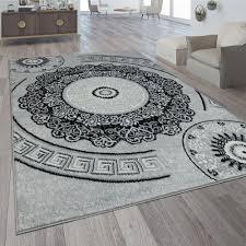 wohnzimmer teppich orientalisches mandala motive