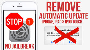 Stop Disable Automatic IOS Updates on iPhone iPad & iPod Touch