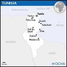 Tunisia Location Map 2013 TUN UNOCHAsvg