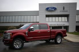 What's The Most Popular Car In The U.S.? - WSJ Ford Is Vesting 25 Million Into Its Louisville Plant To Make Hot Truck Plant Human Rources The Best 2018 Restart F150 Oput Following Supplier Fire Rubber And 5569 Apply For 50 Jobs At Pickup Truck Troubles Will Impact 2700 Workers Makes 5 Millionth Super Duty Kentucky Ky Lake Erie Electric Suspends All Production After Michigan Allamerican Pickup Trucks Aim Lure Chinas Wealthy Van Natta Shows Off Louisvillemade Dearborn Test Track Motor Co Historic Photos Of And Environs