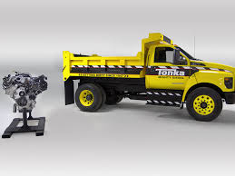 Ford & Tonka Teamed Up To Create Fully Functional, 6.7-Liter Diesel ...