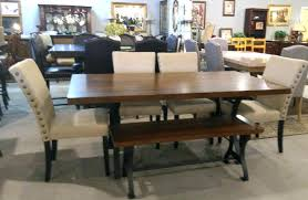 Farmhouse Table For Sale Rustic Dining Set With Bench Tables Kitchen