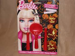 Electric Pumpkin Carving Tools by Amazon Com Barbie Fab Pumpkin Carving Kit Carving Sets Kitchen