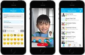 Skype apps for iPad and iPhone an iOS 7 interface makeover