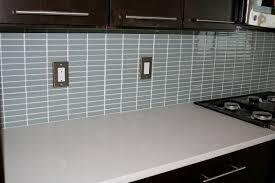 Vapor Light Blue Glass Subway Tile by Backsplash Contemporary Kitchen Wall Tiles Glass Subway Tile